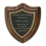 Classic Shield Plaque Achievement Awards