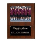 Team Sponsor Photo Plaque Baseball Trophy Awards