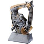 3D Resin M. Basketball Basketball Trophy Awards