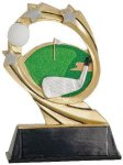 Golf Cosmic Resin Trophy Golf Awards