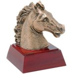 Horse Resin Mascot Resin Trophy Awards