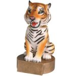 Tiger Bobble Mascot Resin Trophy Awards