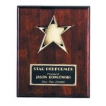 Star Plaque Patriotic Awards