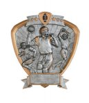 Signature Series Football Shield Award Signature Shield Resin Trophy Awards